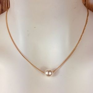 Faux Pearl Choker in multiple styles